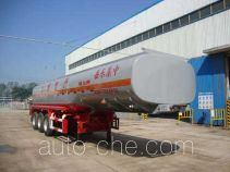 CIMC Liangshan Dongyue CSQ9400GFW corrosive materials transport tank trailer