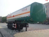 CIMC Liangshan Dongyue CSQ9400GHY chemical liquid tank trailer