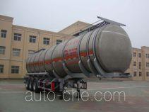 CIMC Liangshan Dongyue CSQ9400GSY полуприцеп масловоз алюминиевый для растительного масла