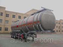 CIMC Liangshan Dongyue CSQ9400GYY aluminium oil tank trailer