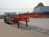 CIMC Liangshan Dongyue CSQ9400TJZ container transport trailer