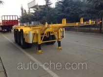 CIMC Liangshan Dongyue CSQ9400TWY dangerous goods tank container skeletal trailer