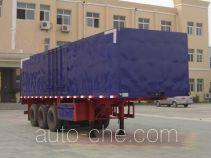 CIMC Liangshan Dongyue CSQ9400XXY box body van trailer
