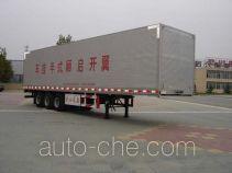 CIMC Liangshan Dongyue CSQ9400XXYK полуприцеп фургон с подъемными бортами (фургон-бабочка)