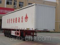 Wanshida CSQ9400XXYP soft top box van trailer