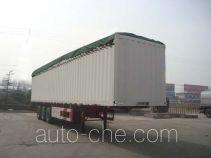 CIMC Liangshan Dongyue CSQ9400XXYP soft top box van trailer