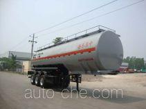 CIMC Liangshan Dongyue CSQ9401GFW corrosive materials transport tank trailer