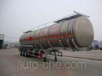 CIMC Liangshan Dongyue CSQ9401GYY aluminium oil tank trailer