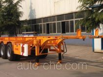 CIMC Liangshan Dongyue CSQ9401TWY dangerous goods tank container skeletal trailer