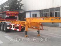 CIMC Liangshan Dongyue CSQ9403TWY dangerous goods tank container skeletal trailer