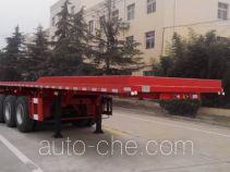 CIMC Liangshan Dongyue CSQ9403ZZXP flatbed dump trailer