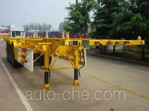 CIMC Liangshan Dongyue CSQ9404TJZ container transport trailer