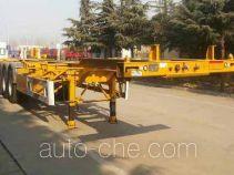 CIMC Liangshan Dongyue CSQ9406TJZ container transport trailer