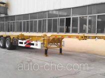CIMC Liangshan Dongyue CSQ9406TWY dangerous goods tank container skeletal trailer