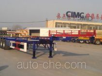 CIMC Liangshan Dongyue CSQ9407TJZ container transport trailer