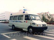 华东牌CSZ5041XYL型巡回医疗车