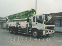 Huadong CSZ5240THB concrete pump truck