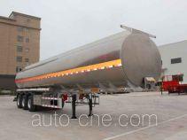 皖汽汽车牌CTD9400GRH型润滑油罐式运输半挂车