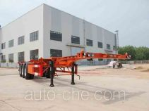Wanqi Auto CTD9400TJZG container transport trailer