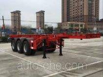 Wanqi Auto CTD9402TWY dangerous goods tank container skeletal trailer