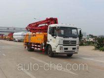 通亚达牌CTY5160THB型混凝土泵车