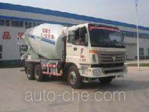 通亚达牌CTY5254GJBBJ型混凝土搅拌运输车