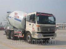 通亚达牌CTY5255GJBBJ型混凝土搅拌运输车