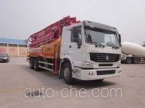 通亚达牌CTY5280THB型混凝土泵车
