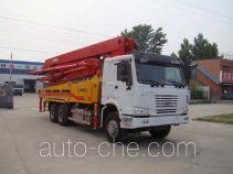 Tongya CTY5330THB concrete pump truck