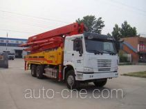 通亚达牌CTY5330THB型混凝土泵车