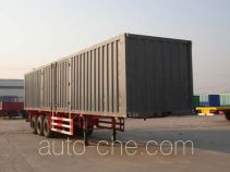 Tongya CTY9340XXY box body van trailer