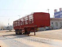 通亚达牌CTY9370CCY型仓栅式运输半挂车