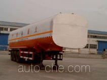 通亚达牌CTY9400GHY型化工液体运输半挂车