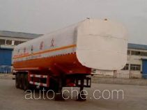 Tongya CTY9400GHY chemical liquid tank trailer
