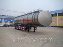 Tongya CTY9401GRY flammable liquid aluminum tank trailer