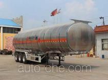 Tongya CTY9401GRYL41 flammable liquid aluminum tank trailer