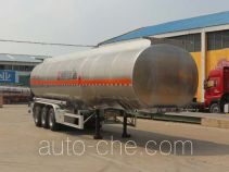 Tongya CTY9401GYYL42 aluminium oil tank trailer