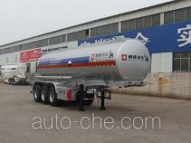 Tongya CTY9402GFWA corrosive materials transport tank trailer