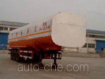 通亚达牌CTY9402GHY型化工液体运输半挂车