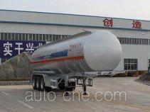 Tongya CTY9403GRYLJC flammable liquid aluminum tank trailer