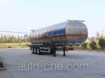Tongya CTY9404GRYLB flammable liquid aluminum tank trailer