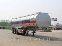 Tongya CTY9404GYSLB aluminium liquid food tank trailer