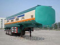 通亚达牌CTY9408GHY型化工液体运输半挂车