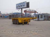 通亚达牌CTY9408TJZG30型集装箱运输半挂车