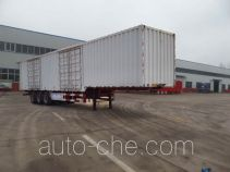 Wanrong box body van trailer
