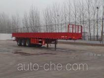 万荣牌CWR9400Z型自卸半挂车