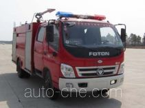 Feiyan (Jiyang) CX5110GXFSG50/F fire tank truck