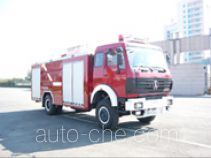 Feiyan (Jiyang) CX5160GXFSG50L fire tank truck