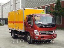 Chuanmu CXJ5080XQY explosives transport truck