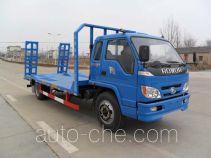 江淮扬天牌CXQ5160TPBBJ型平板运输车